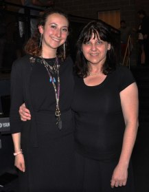 Left, Victoria McComb and Michelle Booth, Music teachers and directors