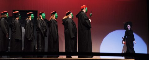 wicked witch and followers
