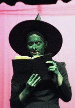 It's the Wicked Witch of the West!