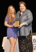 Sophomore, Erin Kearns with Ms Donovan. Erin received her award for Consumer Science.