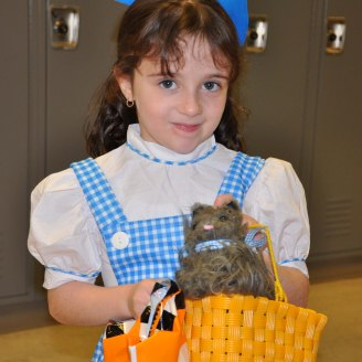 Autumn Cunningham brought Toto along to Project Pumpkin photo by Arianna Esposito
