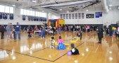 The fun filled gym!