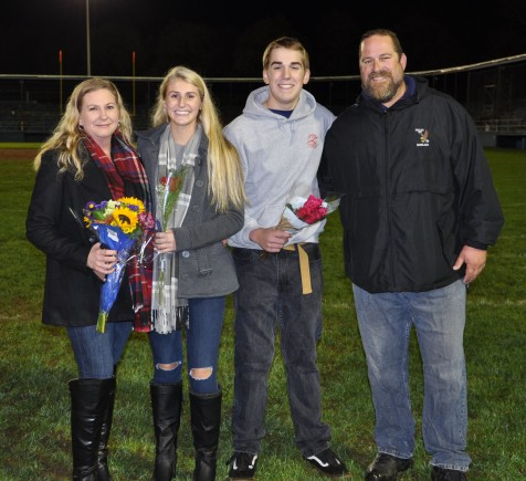 Miss Rockland nominee Alyssa Antoniewicz with her mother, Cheryl, her father, Al and her brother Eric.