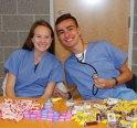 Sarah McLellan and Tyler Johnson at Project Pumpkin. photo by Ari Esposito
