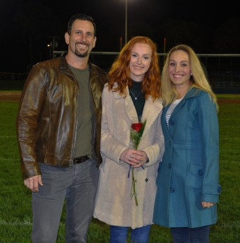 Jasmin Morse and her parents, Jill and Adam.