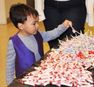 There were plenty of lollipops for everyone!