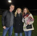 Meghan Dion with her parents, Lynne and Kevin.