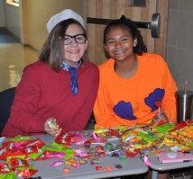 Olivia Jones and Caroline Lang. photo by Ari Esposito