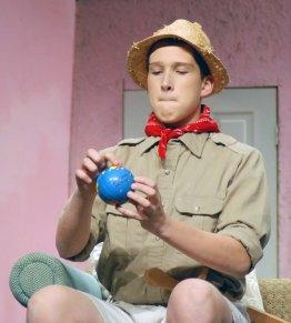 Philip Pattison as Teddy (Roosevelt) Brewster.