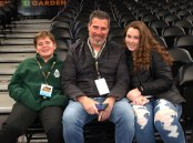 Dr. Cron brought his family to the game!