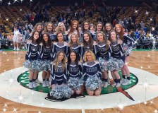 The Rockland HIgh School Cheerleaders