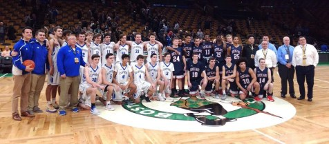 The Norwell and Rockland players and coaches.