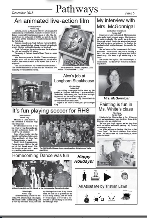 THE VERITAS | The Student Newspaper of Rockland High School