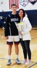Dan Callahan with his mom.