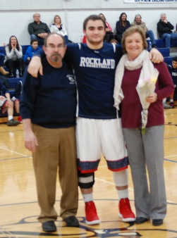 Anthony DeCecco and his parents