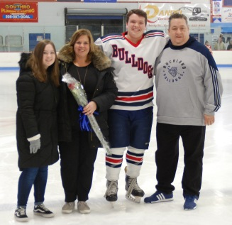 Nick LaBollita with his family.