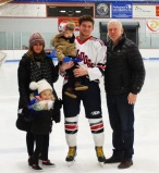Matt Dalton with his family