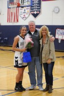 Ashley Murphy with her dad and mom.