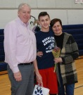 Mike Norris and his parents.