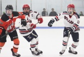 Brian Goode in the game with Middleboro