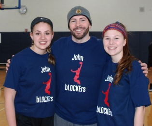 Maddie Gear, Mr. MacAllister, and Marissa Smith are the John bLOCKErs