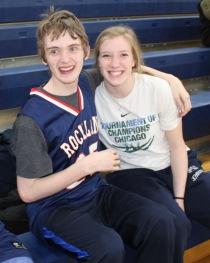 Dillon Doyle and Caroline Elie