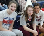 Julia Elie, Emily Grandmont and Ashley Murphy photo by Nicole Blonde