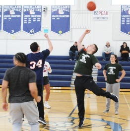 The tip-off of the Unified Game. Veritas photo
