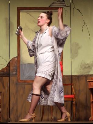 Emily Gaboriault as Miss Agatha Hannigan