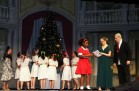 The finale of Annie in the dress rehearsal on Weds. night.