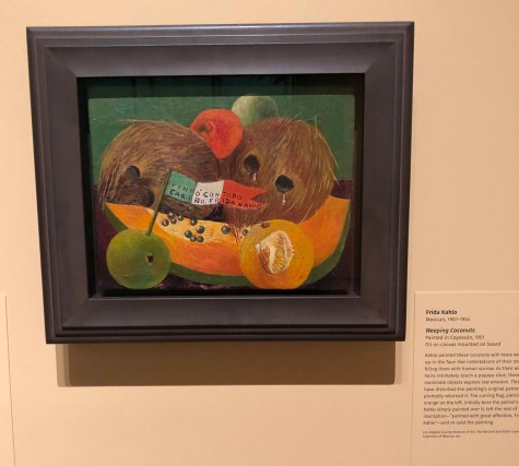 "Kahlo: ""Weeping Coconuts"""
