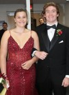 Amelia Dalton and her escort Mike
