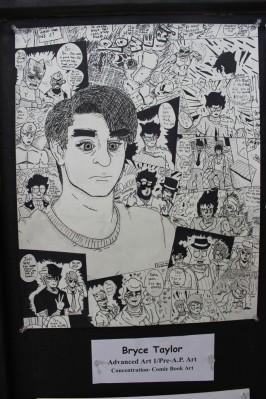 Bryce Taylor: comics