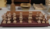 Intricate chess set
