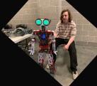 Robot master: Joey Messier. twitter photo