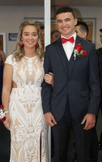 Corinne Cronin and Jake Johnson