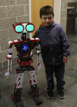"A ""real"" robot."