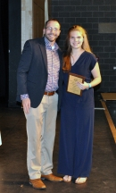Callie Gillan, Grade 9, Multi-Award with Mr. MacAllister,
