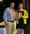 Overall Academic Achievement Award winner for Grade 10 was received by Ann Kelley
