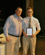 Jared Allen, Grade 10, Multi Award Winner