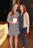 Kathleen Nee, Grade 9 Music Award winner and Ms. McComb