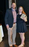 Ava LaBollita, Grade 9, received Multi-Award Awards in English, History and World Languages from Mr. MacAllister.