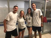 Tyler Gambon, Sarah McLellan, Grace Henry and Tyler Johnson are ready to mentor their freshmen