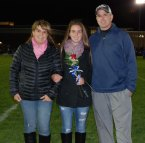 Stephanie Beatrice and her parents Lynne and Chris