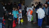 There were over 400 who attended Project Pumpkin on Sunday, Oct. 27. Veritas photo