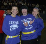 Jessie DeMarco, Taylor Anzivino and Lauren Buker