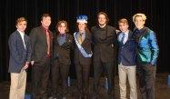 The Mr. Rockland contestants: Jake Benson, Jordan Cunningham, Joey Messier, Zachary Webb, Owen Shea, Mathew Bruzzese and Phil Pattinson